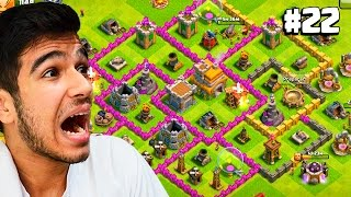 TROQUEI O LAYOUT DO MEU CV 7 - COMEÇANDO NO CLASH OF CLANS #22