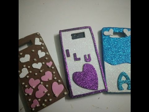 Diy mobile covers making idea how to craftlas youtube for Mobile case diy