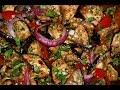 Оочень вкусный салат из жареных баклажанрецепты любимых блюд