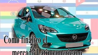 How did the latinamerican car market end