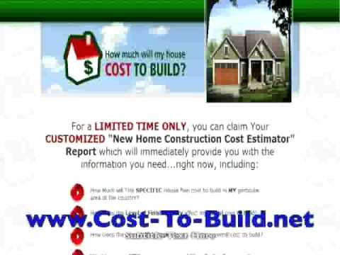 Cost to build house in texas youtube for Cost to build a house in texas