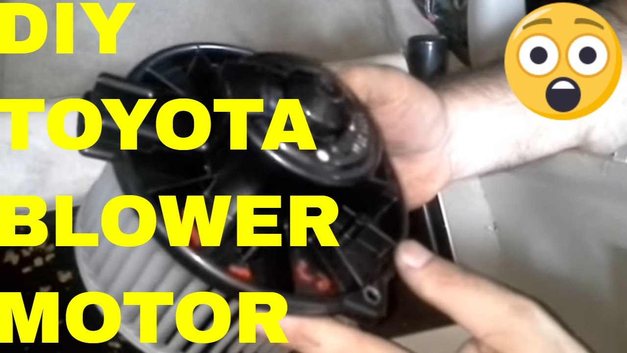 hight resolution of replace camry lexus a c blower motor