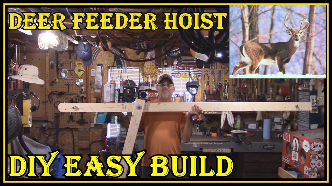 How To Make A Deer Feeder Hanger Bear Proof - Easy Diy Project For Deer  Hunting