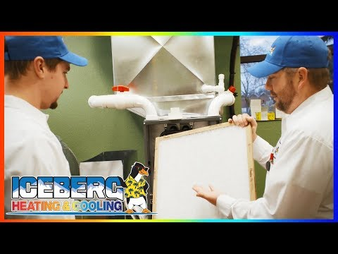 When Our Tech Visits - Iceberg Heating & Cooling