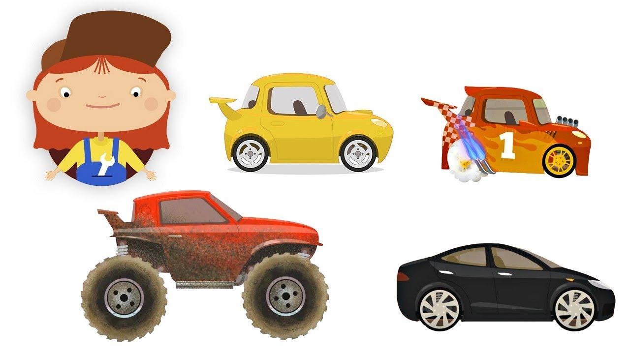 كرتون عربي تعليمي مجموعة كرتون الدكتورة مكويلي و سيارات الاطفال Youtube