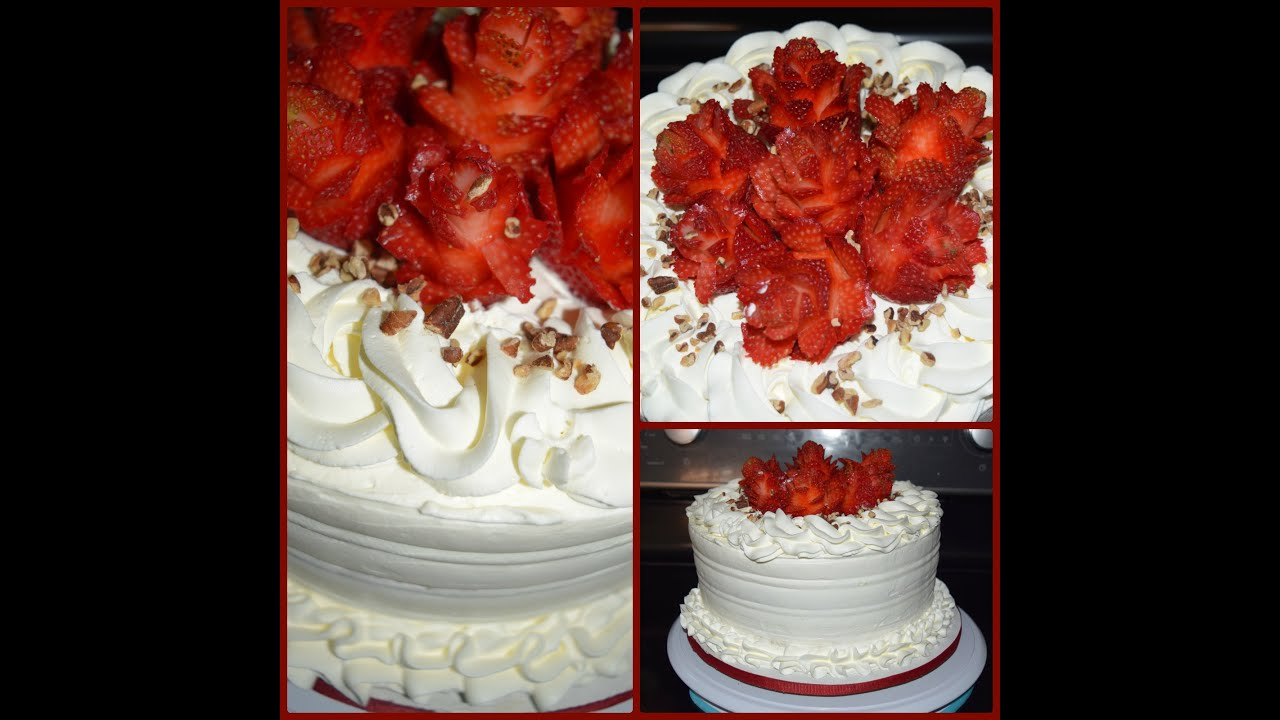 Decorating A Tres Leches Cake