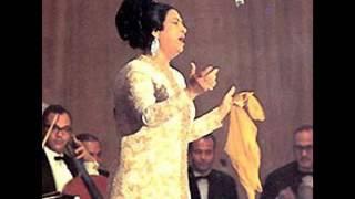 أم كلثوم  /  حديث الروح  /  مقطع مؤثر للغاية  /  من حفل بسينما قصر النيل  1967م.