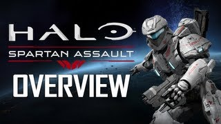 Halo: Spartan Assault Overview! Weapons, Vehicles, & Story!