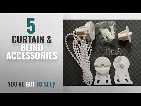 Top 10 Curtain & Blind Accessories [2018]: Roller blinds replacement fittings kit for 25mm diameter