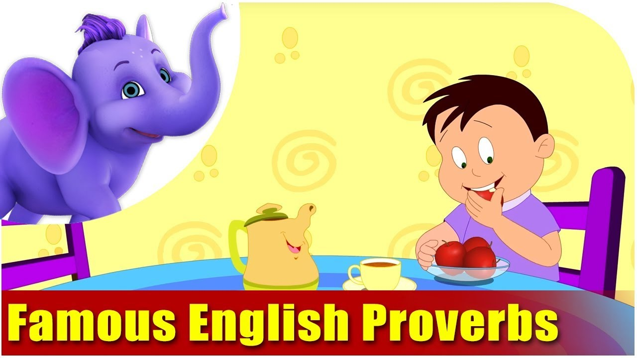 Famous English Proverbs Youtube
