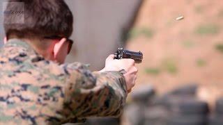 u s marines m9 pistol marksmanship