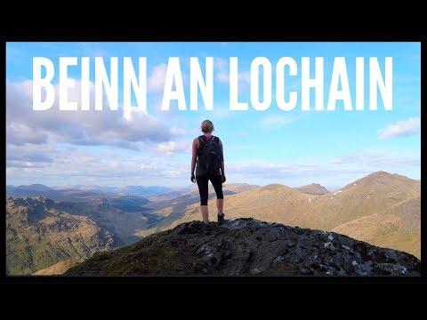 HILLWALKING IN SCOTTISH SUN - BEINN AN LOCHAIN | SCOTLAND