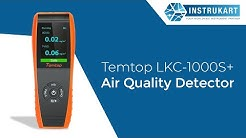 Temtop LKC-1000S+ Air Quality Detector|IAQ Monitor