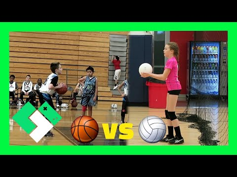 🏀 BASKETBALL VS 🏐 VOLLEYBALL (Day 1785) | Clintus.tv