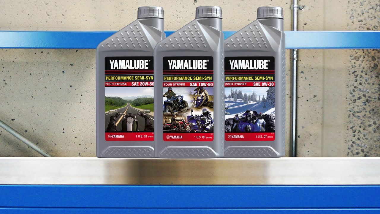 Yamalube Semi Synthetic Engine Oils
