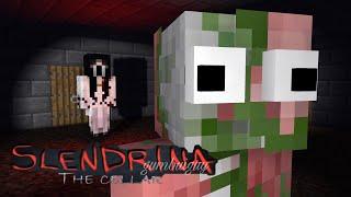 Monster School : SLENDRINA THE CELLAR CHALLENGE- Minecraft Animation