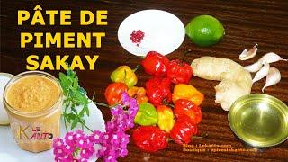 Chili | How to Make a Chili Paste | Malagasy recipe