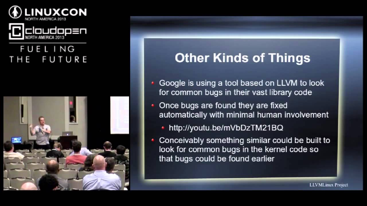 LLVMLinux: The Linux Kernel with Dragon Wings - Behan Webster, Converse in  Code Inc