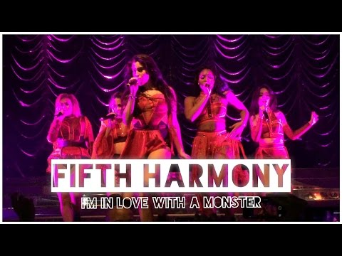 Fifth Harmony - 'I'm In Love With A Monster' Live In Manchester, UK