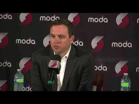 Portland Trail Blazers President Chris McGowan talks new jerseys