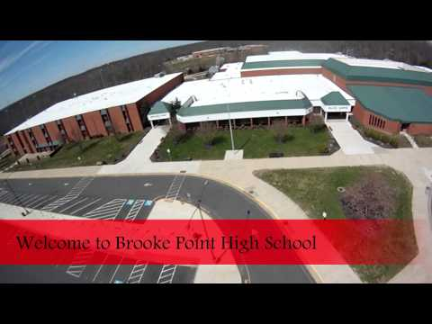 Aerial Footage | Brooke Point High School | Blackhawks | Stafford | Virginia