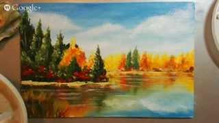 Мастер-класс по живописи маслом для новичков