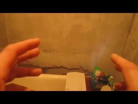Сушка стен после штукатурки.