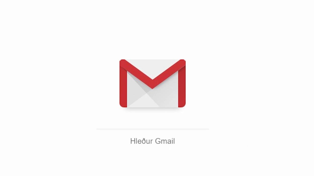 Að stofna Gmail aðgang og helstu grunnatriði – Kennslumyndband