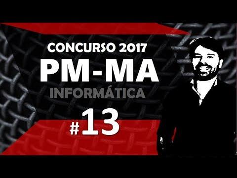 Concurso PM MA 2017 Maranhão #13 Informática