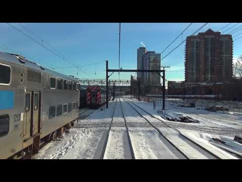 South Shore Line - Chicago, IL. to Gary, IN. [WINTER 2016]