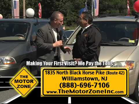 """Down Payments as low as $99"" Motor Zone, Williamstown NJ"
