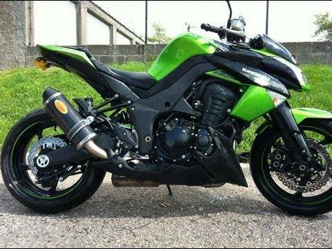 Kawasaki z1000 2012 Sound [HD] - YouTube