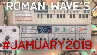 RomanWave's #Jamuary2019 / Day 24 / OP-1 + Casio Vl-Tone (and Roland Mixer)