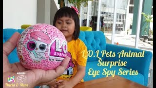L.O.L PETS Animals with BUBBLE SOAP- Eye Spy Series 4