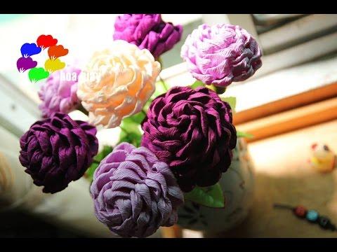 Cách làm Hoa hồng xoắn bằng giấy nhún - Twisted Rose paper flower tutorial [hoagiayshop.com]