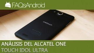 Análisis del Alcatel One Touch Idol Ultra en español