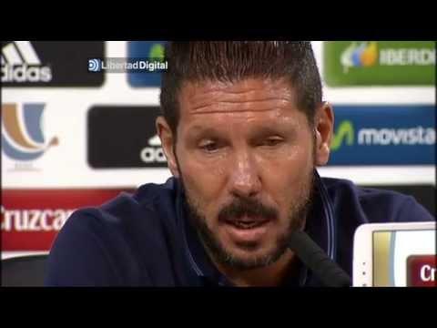 Simeone alaba el potencial del Real Madrid