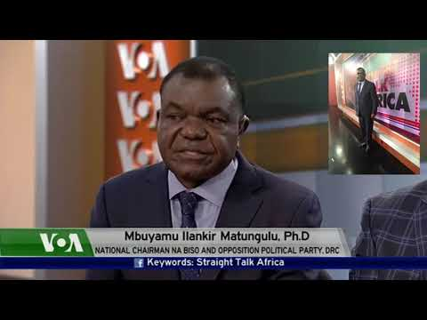 Freddy Matungulu's view on the political crisis in the DR Congo