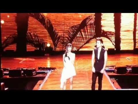 Hyorin (Sistar) ft. Eru - Kemesraan (Special Stage) @ Music Bank in Jakarta