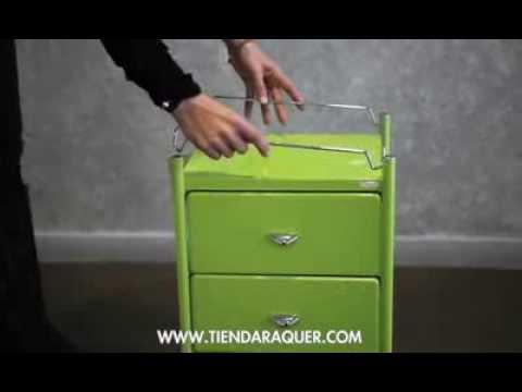 Box 3 carro de ba o con 3 cajones y varilla protectora - Carritos de bano ...