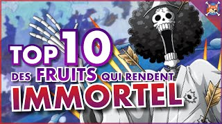 10 FRUITS DU DÉMON QUI PEUVENT RENDRE IMMORTEL ! ( Ou presque … )  | One Piece TOP
