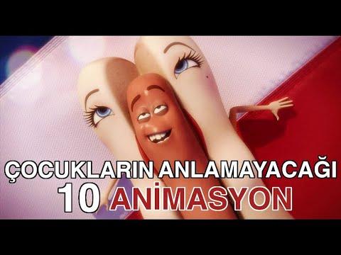Yetişkinler İçin Hazırlanmış 10 Animasyon Filmi