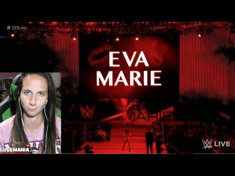 WWE Smackdown Naomi new Entrance vs Eva Marie Stuck in Traffic