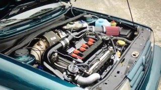 VW Golf Mk2 Rallye 850+hp R30 Turbo 4motion Testfahrt und 1/4meile