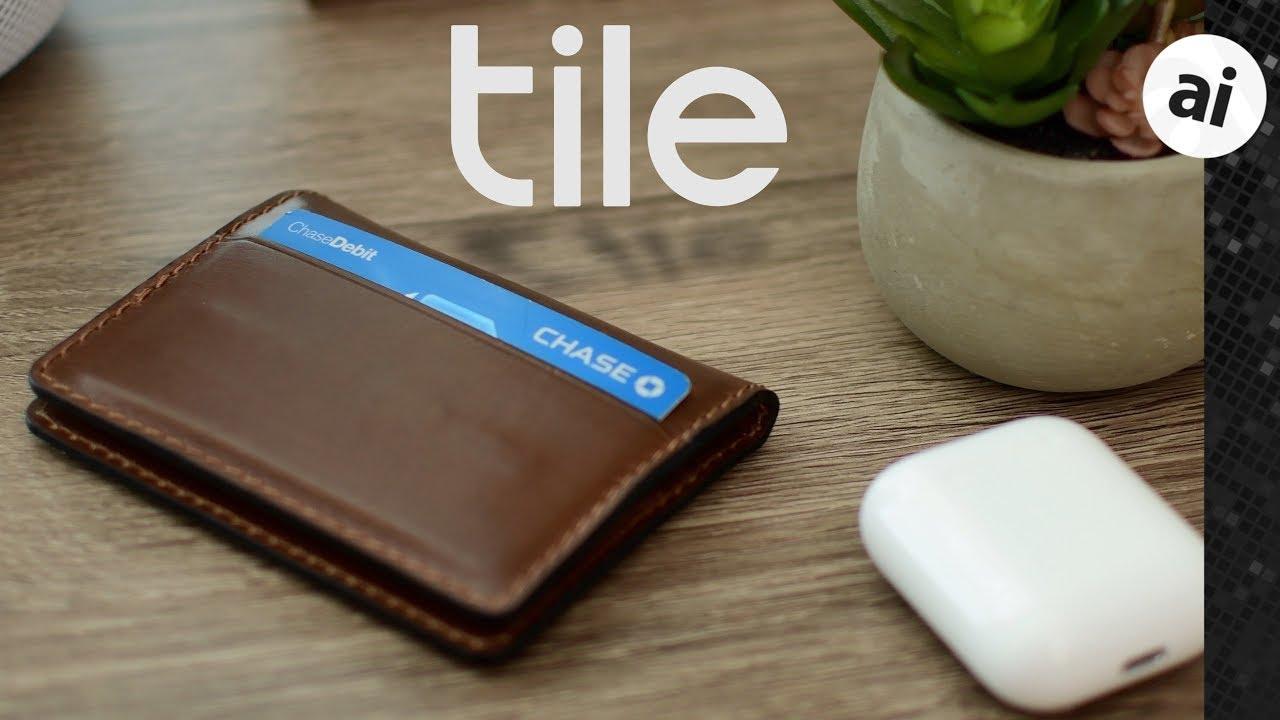 review nomad slim wallet integrates tile bluetooth tracker
