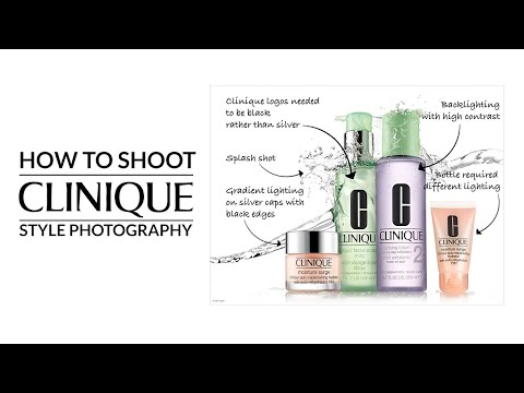Clinique Style Advertising Shoot: Highlights and product photography tips thumbnail