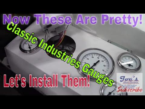 1965 Mustang Gauge Installation (Classic Instruments)