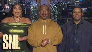Eddie Murphy and Lizzo Make Kenan's SNL Christmas Wish Come True