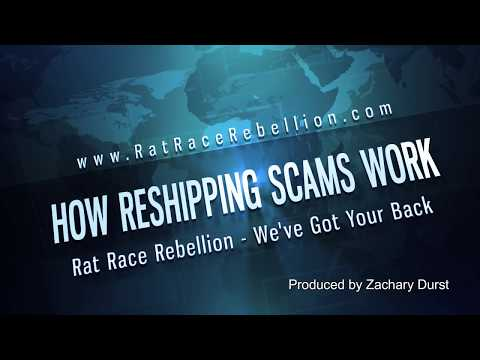 How Reshipping Scams Work