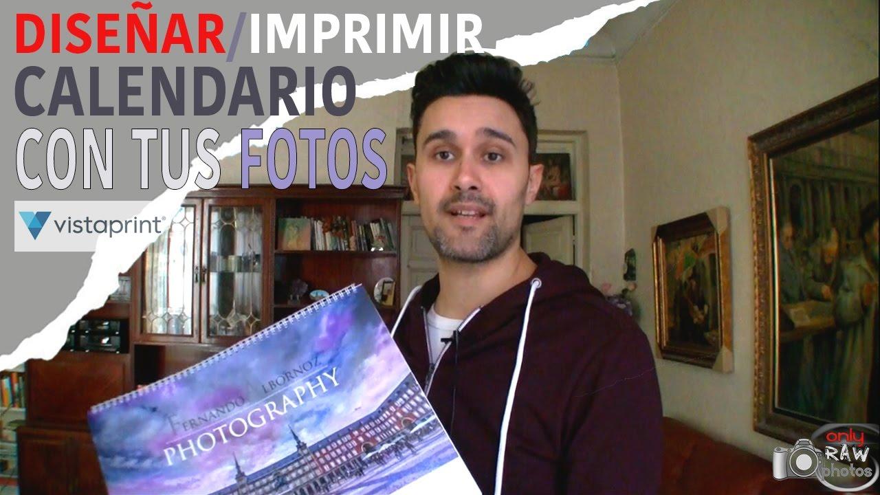 Calendario 2021 Vistaprint DISEÑA UN CALENDARIO CON TUS FOTOS (Vistaprint)   YouTube